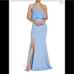 Dress the Population Faith One Shoulder Gown